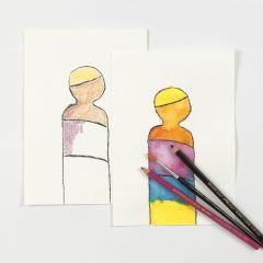 Akvarellblyerts i praktiken