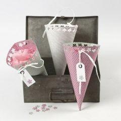 Strutar med spets av papper från Vivi Gade Design