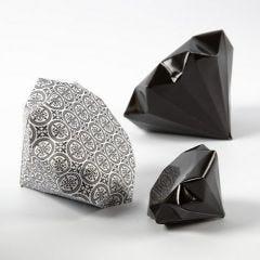 Vikt diamant av papper från Vivi Gade Design, Paris