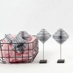 Book Folding av block med designpapper från Vivi Gade