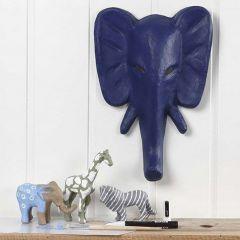 Vilda djur, målade och dekorerade med tusch