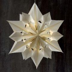 Stor och lysande stjärna av papperspåsar