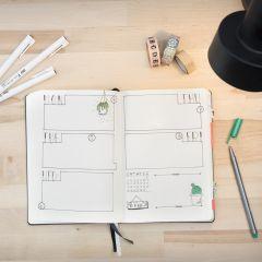 Bullet journal som kalender