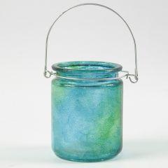 Dutteknik på glas