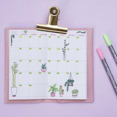 Dekorera veckokalender till din Bullet journal