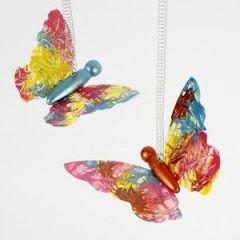 Dekoration av fjärilar