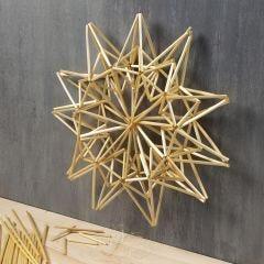 Stor stjärna av halmstrån