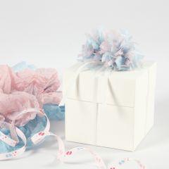 Explosion box till baby shower