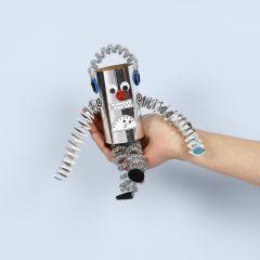 Robot av papprör