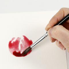 Sådan maler du akvarel med vådt på vådt-teknik