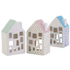 Trivsamma ljushus med glitterdetaljer