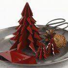 Julgran av vikt, blankt origamipapper
