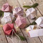Origami julkula vikt av origamipapper