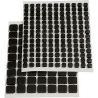 Fästkuddar 3D, stl. 5x5x2 mm, svart, 217 mix./ 1 förp.