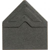 Fotohörn, B: 10 mm, 110 g, svart, 108 st./ 1 förp.