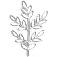 Skärschablon, kvist, stl. 4,4x6,5 cm, 1 st.