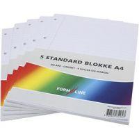 formline block A4, 100 , 60 g, 5 st./ 1 förp.