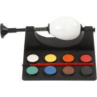 Äggmålare, L: 16,5 cm, svart, 1 set