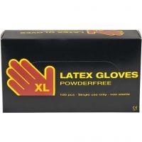 Latex handskar, stl. x-large , 100 st./ 1 förp.
