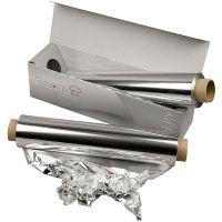 Aluminiumfolie, B: 30 cm, 150 m/ 1 rl.