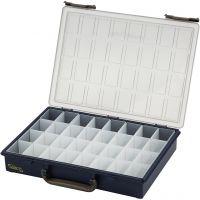 Raaco sortimentlåda, 32 fack, H: 5,7 cm, stl. 33,8x26,1 cm, 1 st.