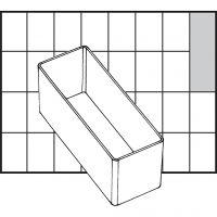Raaco lådinsats, nr. A9-2, H: 47 mm, stl. 109x39 mm, 1 st.
