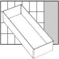Raaco lådinsats, nr. A7-2, H: 47 mm, stl. 218x79 mm, 1 st.