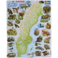 Pussel Sverige, 1 st.
