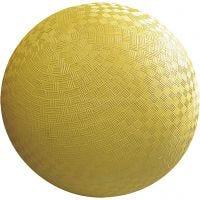 Allroundboll, Dia. 12 cm, gul, 8 st./ 1 förp.
