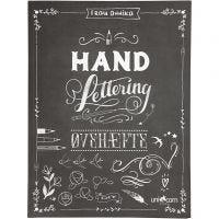 Övningshäfte till 'Hand Lettering*, stl. 21x28 cm, tjocklek 1 cm, 63 , 1 st.