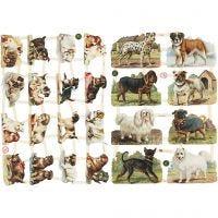 Bokmärken, hundar, 16,5x23,5 cm, 2 ark/ 1 förp.