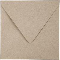 Kvist kuvert, kuvertstl. 16x16 cm, 120 g, natur, 50 st./ 1 förp.