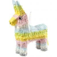 Piñata , stl. 39x13x55 cm, pastellfärger, 1 st.