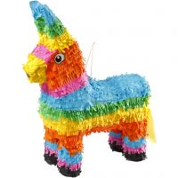 Piñata , stl. 39x13x55 cm, starka färger, 1 st.