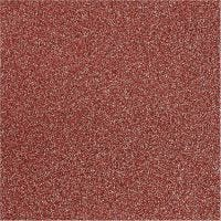 Glitterfilm, B: 35 cm, tjocklek 110 my, röd, 2 m/ 1 rl.