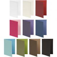 Brevkort, kortstl. 10,5x15 cm, Innehållet kan variera , 250 g, mixade färger, 30 förp./ 1 förp.