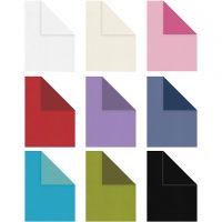 Strukturpapper, A4, 210x297 mm, Innehållet kan variera , 100 g, mixade färger, 30x20 ark/ 1 förp.