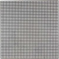Syplast, stl. 14x14 cm, Hålstl. 3x3 mm, svart, 5 ark/ 1 förp.