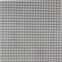 Syplast, stl. 14x14 cm, Hålstl. 3x3 mm, svart, 50 ark/ 1 förp.
