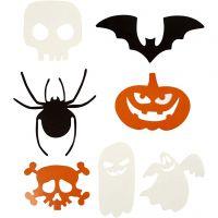 Halloween figurer, stl. 5-10 cm, 180 g, 50 st./ 1 förp.
