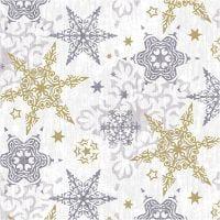 Servetter, Fina stjärnor, stl. 33x33 cm, 20 st./ 1 förp.