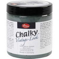 Chalky Vintage Look färg, dark green (702), 250 ml/ 1 burk