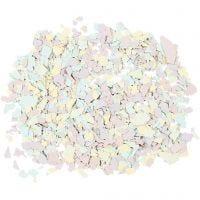 Terrazzo flakes, pastellfärger, 90 g/ 1 burk