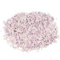 Terrazzo flakes, lila, 90 g/ 1 burk