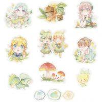Washi stickers, små flickor, stl. 20-50 mm, 30 st./ 1 förp.