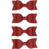 Rosetter, stl. 31x85 mm, röd, 4 st./ 1 förp.