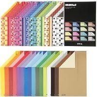 Colorbar rivkartong, A4, 210x297 mm, 250 g, mixade färger, 32x10 ark/ 1 förp.