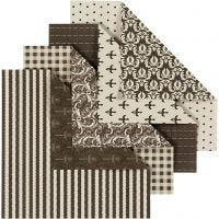 Origamipapper, 50 mix. ark/ 1 förp.
