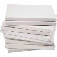 Målarduk, djup 1,6 cm, A2, stl. 42x60 cm, 280 g, vit, 20 st./ 1 förp.