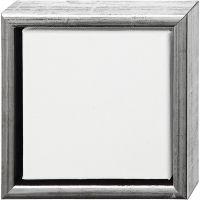 ArtistLine Canvas med ram, djup 3 cm, stl. 19x19 cm, vit, 6 st./ 1 förp.